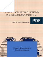 l 5 Mergers, Acquisitions, Strategy in Global Environment