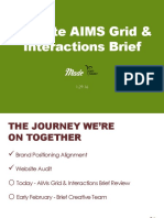 Earth Balance AIMS Grid & Interactions Brief 2016
