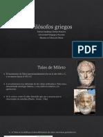 Filósofos Griegos1. Fatima. MEB