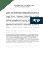 La Infuencia de La Constitucion de 1812 en La Politica Peruana.