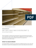 SAP_ Exploring Backorders (Part 1) - Michael Romaniello