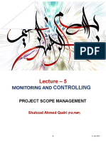 Lecture-6 (Scope Management)