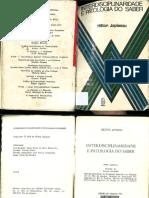 JAPIASSU, Hilton - Interdisciplinaridade e patologia do saber.pdf