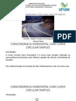 AULA 07 - CONCORDÂNCIA HORIZONTAL COM CURVA CIRCULAR SIMPLES[1641].pdf