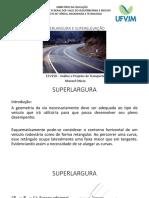 Aula 09 - Superlargura e Superelevação[1643]