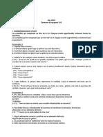 Corrige Espagnol LV2 L ES S