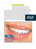 Advanced Technologies in Tooth Whitening