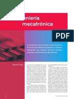 La Ingeniería Mecatróonica Yolanda Diego