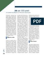Almanacco Per 333 Poeti - Il Lunario Di Desideri Di Vincenzo Guarracino (Recensione Carlo Alessandro Landini)