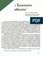 Economia Constitución