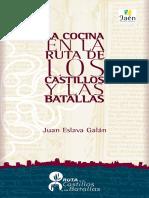 Eslava Galan Juan - La Cocina en La Ruta de Los Castillos Y Las Batallas