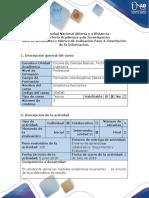 Guía de actividades y rúbrica de evaluación - paso 4 - Descripción de la Información.docx