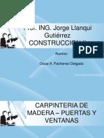 PUERTA Y VENTANA DE MADERA 3.ppt