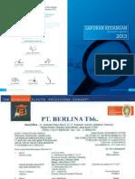 Annual Report 2013 PT Berlina Tbk (Lampiran)