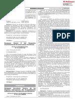 """Determinan La Protección Provisional Del Paisaje Arqueológico """"Inyahuato"""", Ubicado en Los Distritos de Sancos y Chaviña, Provincia de Lucanas, Departamento de Ayacucho"""