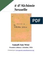 60 1954 Traite d Alchimie Sexuelle