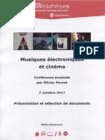 Electro Cinema Pernot Selection