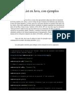 ArrayList en Java
