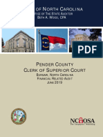 Pender Audit