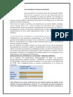 Como Se Clasifican Las Empresa en El Salvador