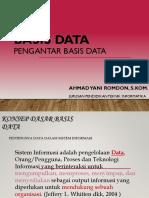 345285409 Week 1 Pengantar Basis Data Pptx