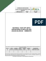 Prx Pga 1002 Pi Li 002 b6;Mto Aguas Blancas 10mmscfd