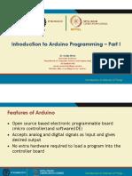 22 IntroductionTo Arduino I