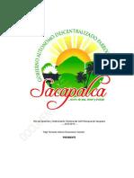 Plan de Desarrollo de Sacapalca