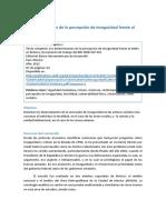 12 Los Determinantes de La Percepción de Inseguridad Frente Al Delito en México (Jle)