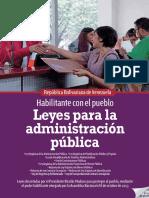 Leyes Para La Administración Pública Nov 2014