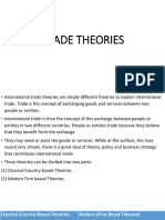 5. Trade Theories