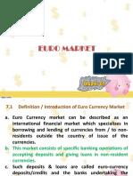 7. Euro Market