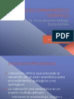 AO- ANESTESIOLOGIA Valoracion Preanestesica Obstetrica