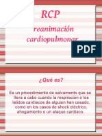 Reanimación Cardio Pulmonar