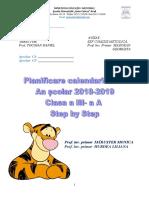 Planificare Orientativa Clasa a III-a
