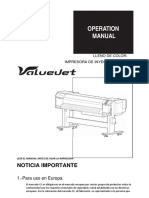 Manual Valuejet 1638x