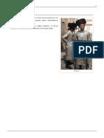 Shtreimel o Sombrero de Piel de Los Judios Ultraortoxos