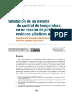 Simulación Control de Temperatura