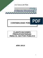 03 Clasificador de Cuentas Edicion 2013