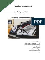 Executive Shirt Company_Group 6