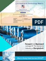 Backward & Forward Industry of the Industry in Bangladesh