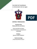 REPORTE DE ANTENA