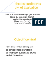 Les Methodes qualitatives de Suivi et Evaluation.ppt