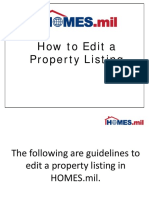 HOMES.mil_How to Update or Edit Property Listing