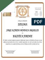 Diploma Balistica