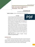 Beltrán - EL PENSAMIENTO EDUCATIVO DE BERNARDO J. GASTÉLUM.pdf
