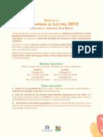 Bases IX Olimpíadas Lectura 2019