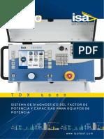 ISA CBA 1000 Manual_ Application (Analizador de Interruptores)