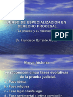 Historia Prueba Judicial