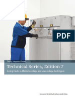 Arcing Faults in Medium-voltage and Low-voltage Switchgear